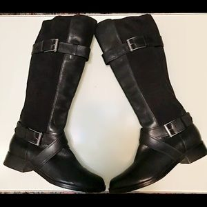 Cole Haan Whitley Nike Air Boots in Black Size 8.5